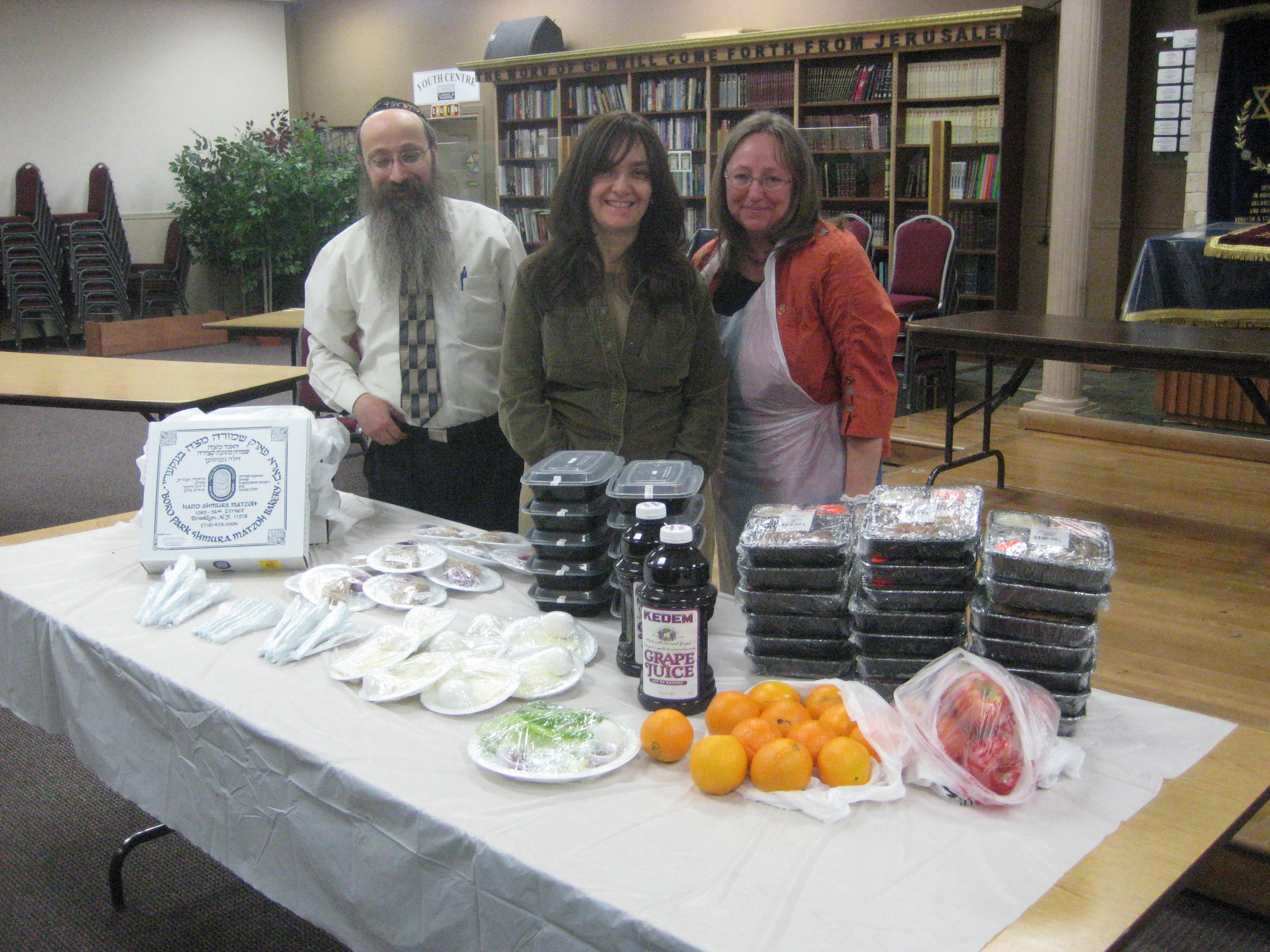 Passover Outreach Meals